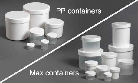 PP and Max cups